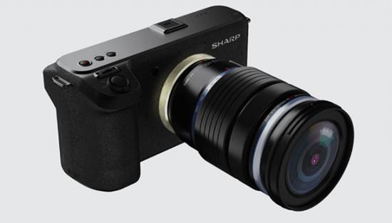夏普将发布新的8K M4/3相机