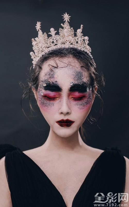 化妆造型的作品