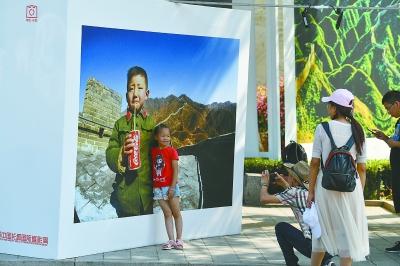 绵延1.6公里!摄影展用1500张巨幅影像讲述长城故事