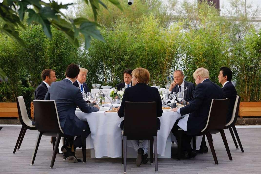 G7峰会在哪举行谈了什么? 法国小城比亚里茨加强警戒