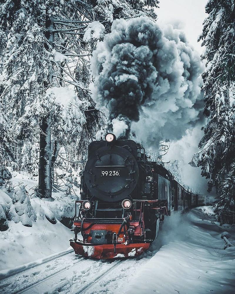是否是你梦中的冬日 童话般的梦幻雪景