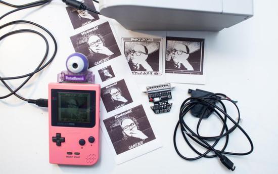 低保真懷舊玩法 Gameboy游戲機大玩創意拍照