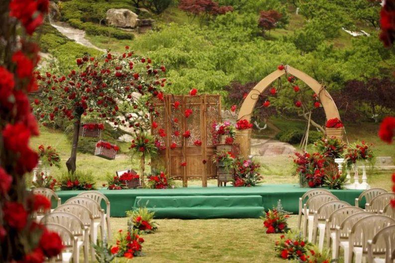 短途目的地戶外婚禮,或成90后新人結婚首選