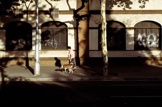 光影的艺术,街拍摄影中的影子运用
