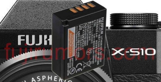 富士X-S10將采用NP-W126S電池