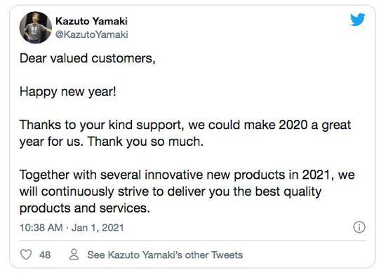 适马CEO表示今年将有创新产品推出