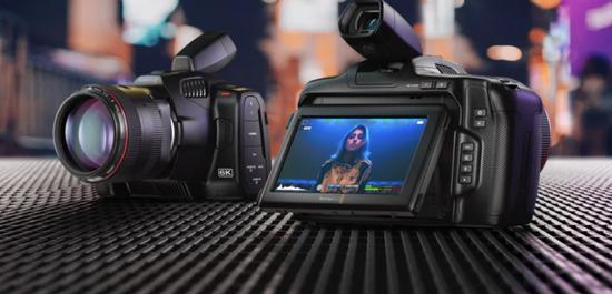Blackmagic Pocket Cinema Camera 6K Pro电影机发布