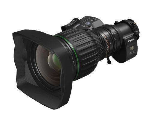 佳能推出CJ17e×6.2B便攜式廣播級變焦鏡頭:支持4K光學性能