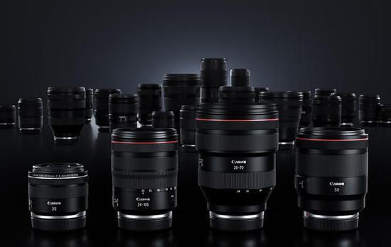 佳能RF70-200 F4 L和RF50 1.8 STM兩款新鏡頭曝光