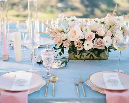2021第一个婚宴高峰即将来袭!室外自助餐式婚宴兴起