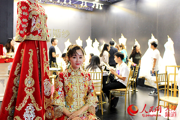 品质代替价格,个性化定制成婚礼消费主流   中国婚博会天津站